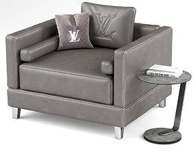 3D model LOUIS VUITTON armchair