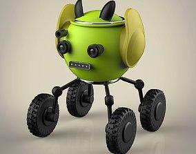 3D model Robot toolbag