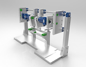 3D model Assembly and welding bench