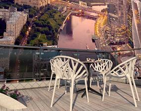 Balcony View 3D