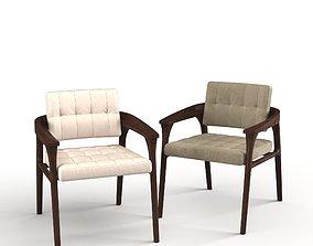 3D Casilia Lounge Armchair