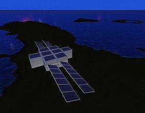 3D asset Modular Station
