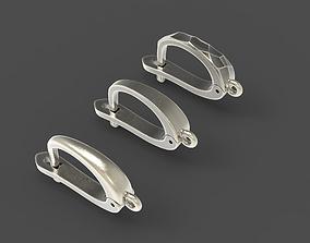 3D print model English lock pack for earrings
