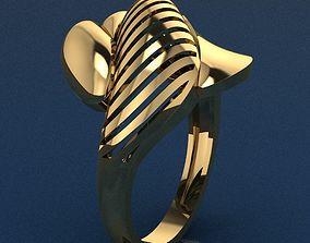 3D printable model diamond-ring Ring 2