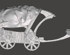 Covered wagon 3D print model