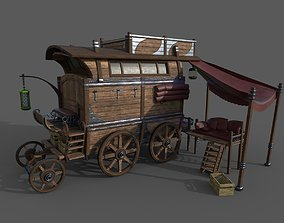 Carriage - 04 3D model