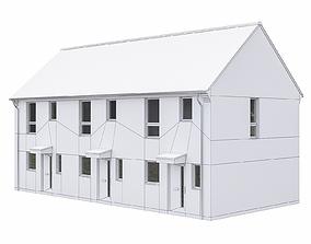 Neighborhood Houses P14 3D asset
