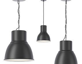 3D Ikea Hektar pendant lamps