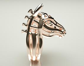 3D print model Horse ring sculpture