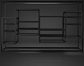 3D model Modern and stylish shelf