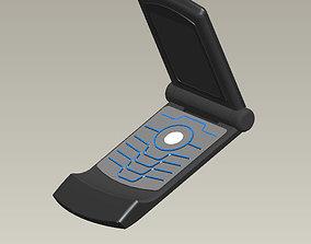 3D Motorola RZR Flip Phone