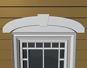 3D model Window Header 4