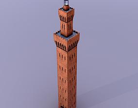Grimsby Dock Tower 3D asset