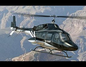 Bell 222 Black 3D