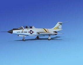 McDonnell F-101B Voodoo V10 3D model
