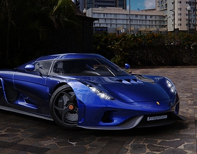 Koenigsegg ragera 3D