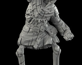 monster Medieval skeleton 2 3D print model