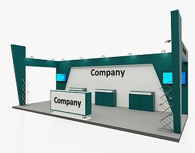 Exhibition stand 9 3D