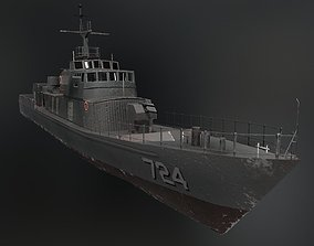 Kondor II Class Vessel 3D asset