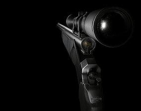 3D asset Thompson Center Arms Encore add Substance Painter