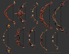 realtime 3DRT - fantasy arms Bows