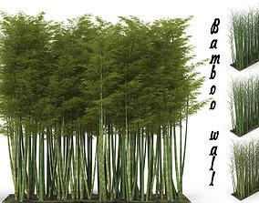 3D Bamboo wall