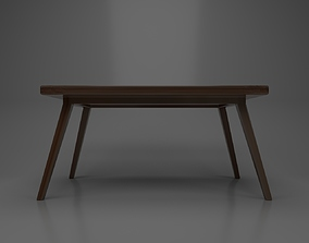 3D The Table Wood