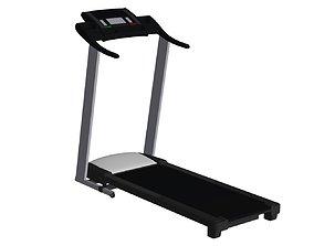 Sport Game treadmill 3D asset