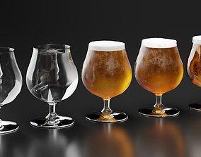 Beer Glass 3 3D