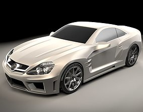 3D Mercedes Benz Carlsson C25