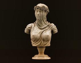 3D print model art Veiled Lady