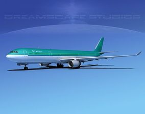 3D model Airbus A330-300 Aer Lingus