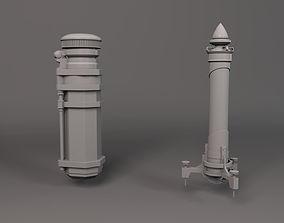 Dishonored 2 Health and Mana 3D print model