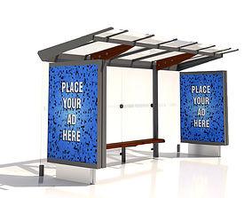 MMCite Regio 310c Bus Shelter 3D model