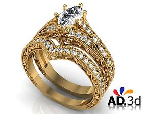 3D printable model Golden ring