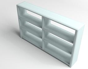 Bookshelf Multilevel 3D model