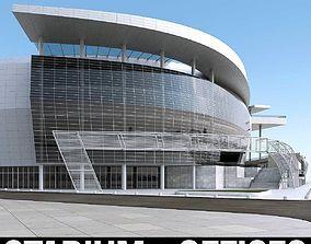 Warriors Arena Stadium 3D model