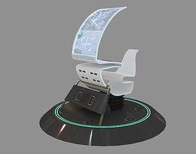 DRON OPERATOR CONSOLE SCI FI 3D VR / AR ready