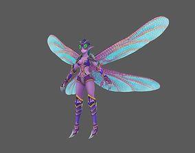 3D asset flying spirit