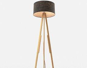 Solstice floor lamp 3D