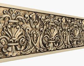 3D print model cornice Moulding