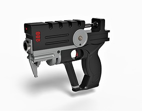 3D print model Blaster of Korben Dallas from movie The 1
