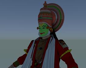 3D model Kathakali