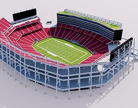 Levis Stadium - San Francisco California 3D model