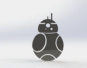 technology 3D printable model R2D2 WALL ART