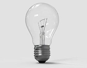 regular 3D model Light Bulb
