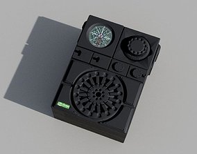 3D printable model Sandtrooper Backpack Radio Full