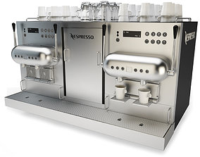 3D model Coffee Machine Nespresso Aguila