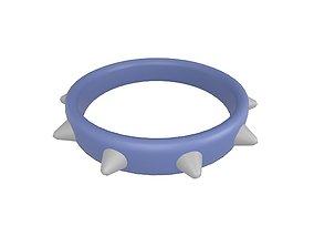 Spiked Collar v1 002 3D asset