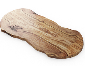 3D Rustic Hardwood Chopping Board